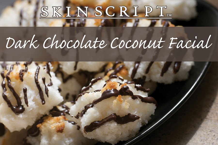 Dark Chocolate Coconut, Valentine Day, holsitic fusion, spa, englishtown, nj, organic, natural, skin care